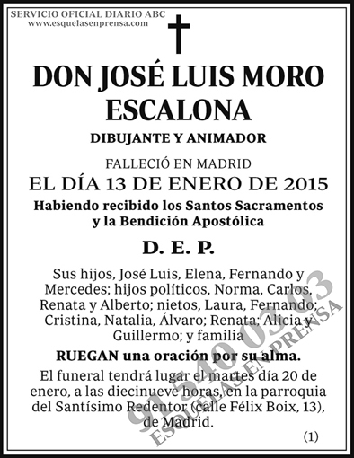 José Luis Moro Escalona